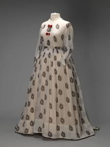 Twee-delige japon | Two-piece gown, 1860-1870, Amsterdam Museum  #summer #modemuze #zomer #amsterdammuseum