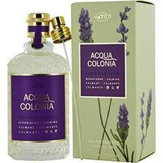 4711 Acqua Colonia Lavendar and Thyme Eau de Cologne Spray, Ounce: Long lasting aromatic fragrance. Made in Germany. Cologne Spray, Best Perfume, Oils For Skin, Health And Beauty, Lavender, Perfume Bottles, Feminine Mystique, Personal Taste, Amazon