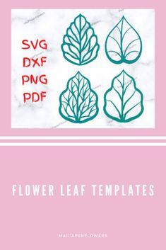These paper flower leaf templates Svg will absolutely adds a nice and special look to your paper flowers. They are great for paper flowers diy projects! Click through for more views!!! #paperflowerleaf #flowerleaftemplate #paperflowerleafsvg #flowerleafsvg  #paperflowerleaftemplate #leaftemplatecricut #paperflowersdiy Big Paper Flowers, Giant Paper Flowers, Leaf Template Printable, Flower Stamen, Rose Leaves, Flower Center, Flower Template, Give It To Me, Cricut