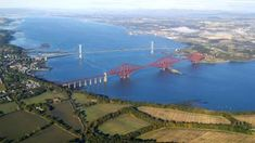 SCOTLAND Forth Rail Bridge and Inch Garvie, Firth of Forth. An oblique aerial photograph taken facing south-west. Edinburgh City, Edinburgh Castle, Edinburgh Scotland, Scotland Travel, Scotland Location, Friday Pictures, Rose Street, Gallery Of Modern Art, Ireland Landscape