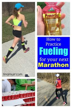 Elite runner Tina Muir shares her fueling strategy for the marathon to minimize time lost at water stations, but continue to take in what you need to fuel correctly.