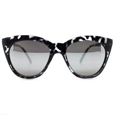 Quay Australia Isabell Sunglasses in Black Tortoise/Silver