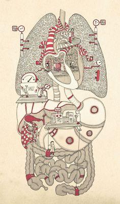 18 Ideas Science Wallpaper Medicine For 2019 Art And Illustration, Illustrations Médicales, Medical Illustration, Arte Com Grey's Anatomy, Human Anatomy Art, Anatomy Organs, Medical Wallpaper, Biology Art, Photographie Portrait Inspiration