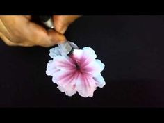 One stroke flower Part 1 - YouTube