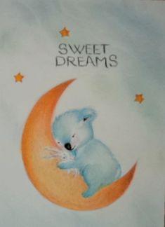 Picturile Roxanei-Babyart: Sweet dreams Baby Art, Sweet Dreams, Art Kids, Infant Art, Baby Artwork