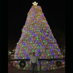 Warm wishes from the tumbleweed Christmas tree in Chandler, AZ. - Todd Mosher #hashingalltheway