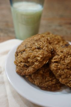 Healthy Oatmeal Raisin Cookies Best oatmeal cookies you will ever have!