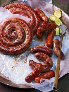 Pat LaFrieda Meat Purveyors - Sausage Fest- 28 oz of Hampshire Italian sweet sausage  28 oz of Hampshire Italian hot sausage  28 oz of Provolone cheese and parsley sausage  28 oz of breakfast sausage