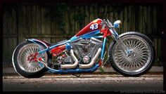 Bobber Inspiration - Bobbers, Café racers and other Custom Motorcycles motorcycle Motos Bobber, Bobber Bikes, Bobber Motorcycle, Bobber Chopper, Moto Bike, Cool Motorcycles, Motorcycle Quotes, Triumph Motorcycles, Girl Motorcycle
