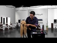 Discover how simple it is to create the effect of a finger wave with these two techniques: Red Carpet Waves (a la Taylor Swift) and the Push Wave (soft and organic). Watch now! http://www.samvilla.com/education/d228_2%20Techniques%20for%20Creating%20Finger%20Waves.html