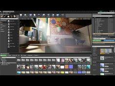 Ue4: Creating LightShafts/God rays using a direction light - YouTube