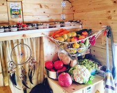 Wohnmobil / Camper Küche #vanlife #healthy