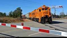 PICK 9500 Pickens Railroad GE U18B at Anderson, South Carolina by J.A. Muscarella