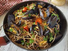 spaghetti con le cozze Japchae, Ethnic Recipes, Al Dente, Diet