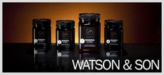 """The """"Black Label"""" is the latest addition to the Watson & Son range. This is harvested and produced here in the North Island in New Zealand. It is certified Manuka Honey from NZ which is fast earning a reputation as a natural wonder treatment!"""