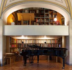 books + piano