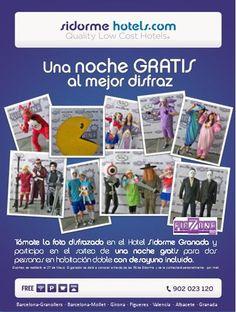 ¿Vienes al #FicZone 2013? Tómate la foto disfrazado durante tu estancia en el #Hotel Sidorme #Granada y gana una Noche Gratis!!!