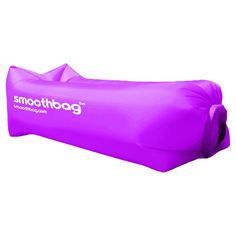 SmoothBag Portable Inflatable Pop-Up Lounging Sofa with Built-in Headrest -