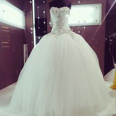 Princess Wedding Dress | via Tumblr