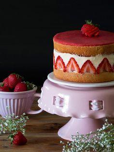 Tarta Fraisier ¡la más exquisita de las tartas frutales! - My Karamelli
