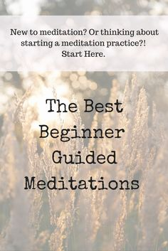 New to meditation? Or thinking about starting a meditation practice? CLICK THROUGH to find 5 of t . Guided Meditation, Meditation For Anxiety, Walking Meditation, Easy Meditation, Relaxation Meditation, Meditation For Beginners, Meditation Benefits, Chakra Meditation, Meditation Practices