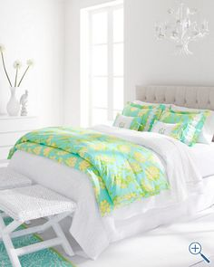 Bedroom,Recommended Bedding Ideas By Lilly Pulitzer Bedding: .