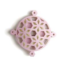 Lace style cutout jewellery  Marcella Ferretti