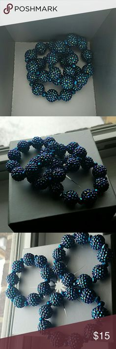 Bracelets Blue and purple bracelet shoedazzle Jewelry Bracelets