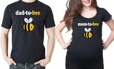 Maternity T-shirts Pregnancy Announcement Couple Baby Shoot T-shirt Mom To Be Baby Shower Gifts Baby Shoot, Bee Gender Reveal, Gender Reveal Outfit, Baby Kicking, Pregnancy Shirts, Maternity Shirts, Funny Maternity, Baby Pregnancy, Pregnancy Info