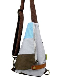 The Sling is a single-strap, quick access bag that swings around for fast shooting without removing the pack.