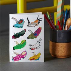 Ceratops Greeting Card