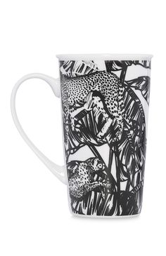 Primark - Black Ceramic Mug