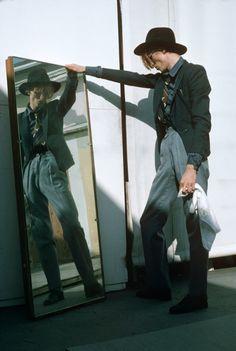 Bowie, 1974- Los Angeles. Steve Schapiro