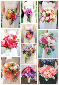 12 Bold Bouquets – Blissfully Wed