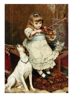 The Broken String Giclee Print by Charles Burton Barber at AllPosters.com