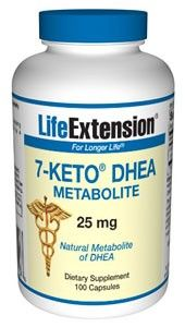 Life Extension 7-Keto DHEA Metabolite 25mg