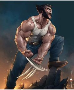 Art Of Man, Big Guns, Sideshow Collectibles, X Men, Location History, Batman, Marvel, Fan Art, Deviantart