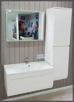 Mobilier baie suspendat Oryzont 90 cm Alcove, Bathtub, Bathroom, Standing Bath, Washroom, Bath Tub, Bathrooms, Bathtubs, Bath
