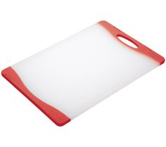 Buy COLOURWORKS 35 cm x 24 cm Cutting Board - Red | Free Delivery | Currys