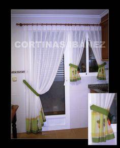 1000 images about cocina on pinterest sheer curtains - Cortina puerta cocina ...
