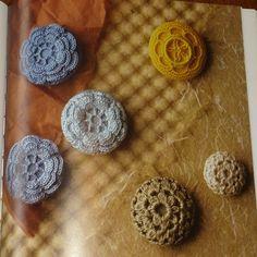 "Jacq's Fibers: ""50 Heirloom Buttons to Make"""