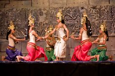 Apsaras and The Cambodia (Khmer) Classical Dance
