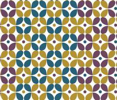 Mod_beat_wallpaper-05 fabric by blimblimb on Spoonflower - custom fabric