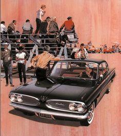 1961 Pontiac Tempest | Fitz and Van Cars Usa, Us Cars, Vintage Advertisements, Vintage Ads, Pontiac Tempest, Grand Chef, General Motors, Pontiac Cars, Hot Rods