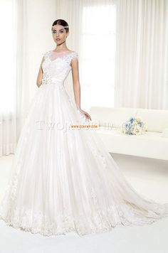 A-line Avec bretelles Naturel Robes de mariée 2014