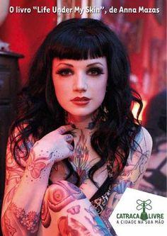 Life Under My Skin. #Tattoos. she's precious!!!