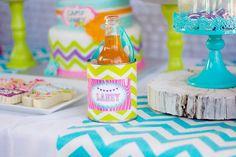 Glamping Party via Kara's Party Ideas Kara'sPartyIdeas.com #Camping #Sleepover #PartyIdeas #PartySupplies #Glamping #GirlsBirthdayParty