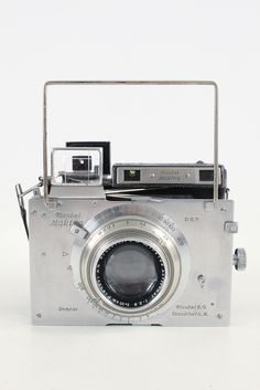 Plaubel Makina III Camera & 100mm f2.9 Anticomar Lens