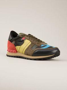 Valentino Garavani 'rockrunner' Sneakers - Luisa World - Farfetch.com