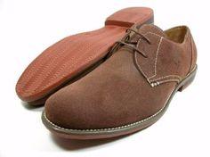 Amazon.com: Mens Ferro Aldo Brown Faux Suede Oxford Lace Up Dress Shoes: Shoes